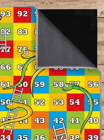 فرش مدما - فرش مار و پله - فرش کودک - فرش آبی - فرش سایز ۱ متر در ۲ متر - فرش دو متري - فرش 2 متري - فرش عرض يک متر - فرش طول دو متر