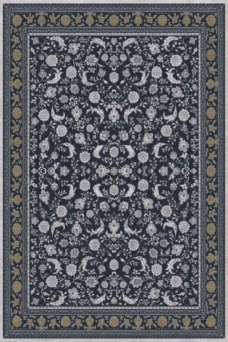 فرش مدما - فرش پرند - فرش کلاسیک - فرش سرمه ای - فرش سایز ۲.۲۵ متر در۳.۴ متر - فرش هشت متري - فرش 8 متري - فرش عرض دو متر و بيست و پنج سانت - فرش طول سه متر و چهل سانت