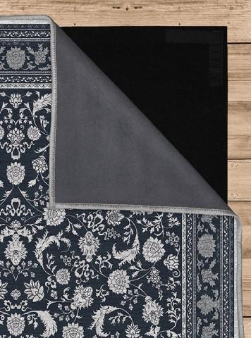فرش مدما - فرش پرند - فرش کلاسیک - فرش سرمه ای - فرش سایز ٠.۸٠ متر در ۲.۴ متر - فرش هشتاد سانت در دو متر و چهل سانت - فرش 80 سانت در 2 متر و 40 سانت - فرش عرض هشتاد سانت - فرش طول دو متر و چهل سانت