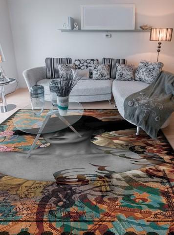 فرش مدما - فرش آشوب - فرش خط نقاشی - فرش کرمی - فرش سایز ٠.۸٠ متر در ۱.۲ متر - فرش هشتاد سانت در يک متر و بيست سانت - فرش 80 در 1 متر و 20 سانت - فرش عرض هشتاد سانت - فرش طول يک متر و بيست سانت