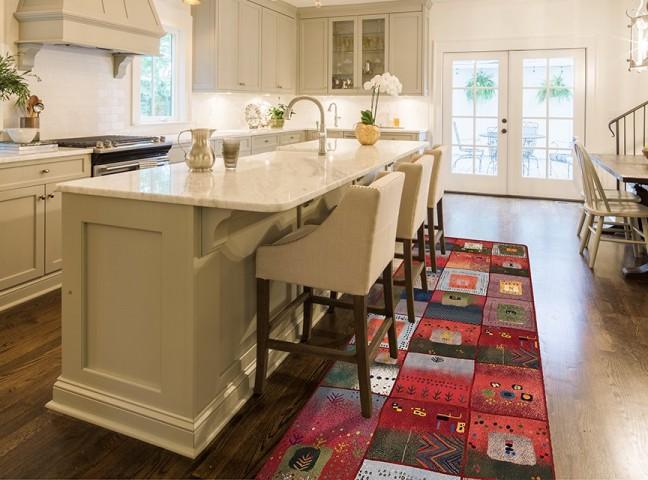 فرش مدما - فرش آراسته - فرش گبه و عشایر - فرش قرمز - فرش سایز ٠.۸٠ متر در ۲.۴ متر - فرش هشتاد سانت در دو متر و چهل سانت - فرش 80 سانت در 2 متر و 40 سانت - فرش عرض هشتاد سانت - فرش طول دو متر و چهل سانت
