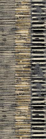 فرش مدما - فرش آمیتیس - فرش مدرن - فرش طوسی - فرش سایز ۱ متر در ۳ متر - فرش سه متري - فرش 3 متري - فرش عرض يک متر - فرش طول سه متر