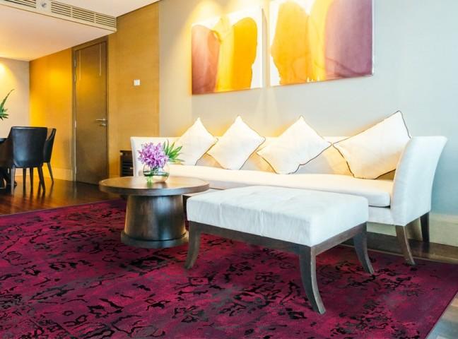 فرش مدما - فرش ریما - فرش کهنه نما - فرش صورتی - فرش سایز ۲.۲۵ متر در۳.۴ متر - فرش هشت متري - فرش 8 متري - فرش عرض دو متر و بيست و پنج سانت - فرش طول سه متر و چهل سانت