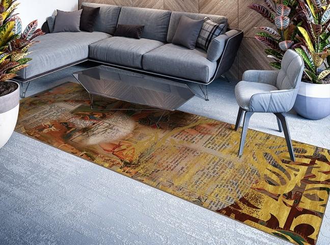 فرش مدما - فرش محیا - فرش خط نقاشی - فرش مسی - فرش سایز ٠.۸٠ متر در ۲.۴ متر - فرش هشتاد سانت در دو متر و چهل سانت - فرش 80 سانت در 2 متر و 40 سانت - فرش عرض هشتاد سانت - فرش طول دو متر و چهل سانت