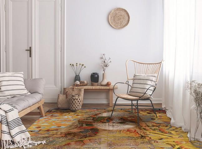 فرش مدما - فرش محیا - فرش خط نقاشی - فرش مسی - فرش سایز ۱ متر در ۱.۵ متر - فرش يک و نيم متري - فرش 1.5 متري - فرش عرض يک متر - فرش طول يک و نيم متر