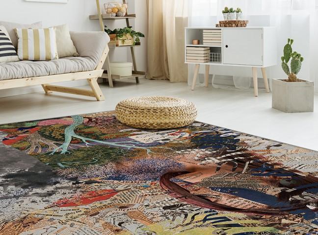 فرش مدما - فرش لبخند - فرش خط نقاشی - فرش طوسی - فرش سایز ۱ متر در ۱.۵ متر - فرش يک و نيم متري - فرش 1.5 متري - فرش عرض يک متر - فرش طول يک و نيم متر