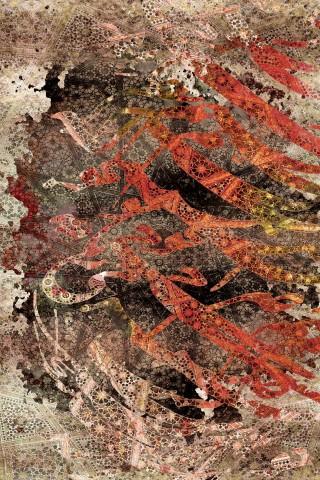 فرش مدما - فرش نیایش - فرش خط نقاشی - فرش مسی - فرش سایز ۲.۲۵ متر در۳.۴ متر - فرش هشت متري - فرش 8 متري - فرش عرض دو متر و بيست و پنج سانت - فرش طول سه متر و چهل سانت