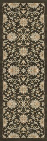 فرش مدما - فرش نازنین - فرش کلاسیک - فرش قهوه ای - فرش سایز ٠.۸٠ متر در ۲.۴ متر - فرش هشتاد سانت در دو متر و چهل سانت - فرش 80 سانت در 2 متر و 40 سانت - فرش عرض هشتاد سانت - فرش طول دو متر و چهل سانت