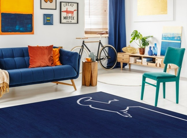 فرش مدما - فرش آقای خط - فرش کودک - فرش سرمه ای - فرش سایز ۲.۲۵ متر در۳.۴ متر - فرش هشت متري - فرش 8 متري - فرش عرض دو متر و بيست و پنج سانت - فرش طول سه متر و چهل سانت
