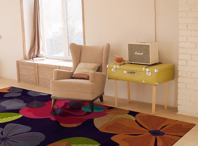 فرش مدما - فرش لیانا - فرش گل - فرش بنفش - فرش سایز ۲.۲۵ متر در۳.۴ متر - فرش هشت متري - فرش 8 متري - فرش عرض دو متر و بيست و پنج سانت - فرش طول سه متر و چهل سانت