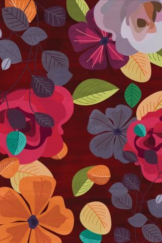 فرش مدما - فرش لیانا - فرش گل - فرش قرمز - فرش سایز ۲.۲۵ متر در۳.۴ متر - فرش هشت متري - فرش 8 متري - فرش عرض دو متر و بيست و پنج سانت - فرش طول سه متر و چهل سانت