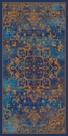 فرش مدما - فرش سریرا - فرش کهنه نما - فرش آبی - فرش سایز ۱ متر در ۲ متر - فرش دو متري - فرش 2 متري - فرش عرض يک متر - فرش طول دو متر