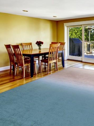 فرش مدما - فرش مهرسانا - فرش مینیمال - فرش آبی - فرش سایز ۲.۲۵ متر در۳.۴ متر - فرش هشت متري - فرش 8 متري - فرش عرض دو متر و بيست و پنج سانت - فرش طول سه متر و چهل سانت