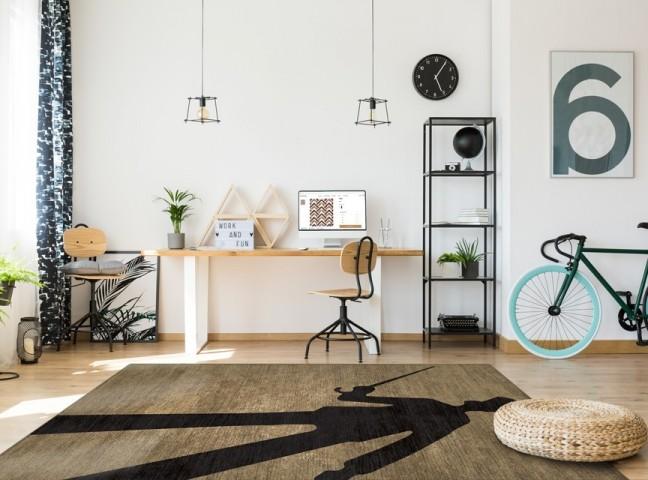 فرش مدما - فرش بابا لنگ دراز - فرش مینیمال - فرش خردلی - فرش سایز ۲.۲۵ متر در۳.۴ متر - فرش هشت متري - فرش 8 متري - فرش عرض دو متر و بيست و پنج سانت - فرش طول سه متر و چهل سانت