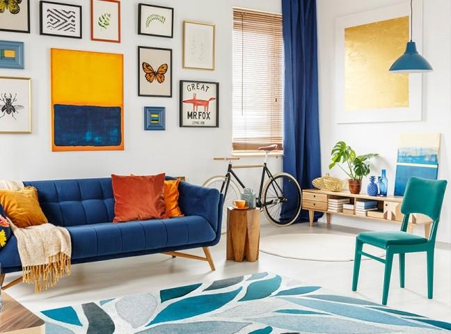 فرش مدما - فرش لادن - فرش مدرن - فرش آبی - فرش سایز ۲.۲۵ متر در۳.۴ متر - فرش هشت متري - فرش 8 متري - فرش عرض دو متر و بيست و پنج سانت - فرش طول سه متر و چهل سانت