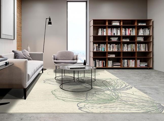 فرش مدما - فرش کیانا - فرش گل - فرش کرمی - فرش سایز ۲.۲۵ متر در۳.۴ متر - فرش هشت متري - فرش 8 متري - فرش عرض دو متر و بيست و پنج سانت - فرش طول سه متر و چهل سانت
