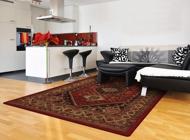 فرش مدما - فرش آتوسا - فرش گبه و عشایر - فرش قرمز - فرش سایز ۲.۲۵ متر در۳.۴ متر - فرش هشت متري - فرش 8 متري - فرش عرض دو متر و بيست و پنج سانت - فرش طول سه متر و چهل سانت