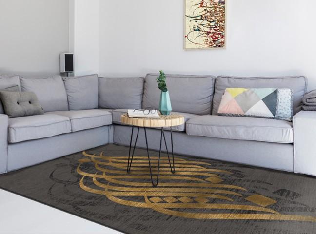 فرش مدما - فرش مهلا - فرش خط نقاشی - فرش طوسی - فرش سایز ۱ متر در ۱.۵ متر - فرش يک و نيم متري - فرش 1.5 متري - فرش عرض يک متر - فرش طول يک و نيم متر