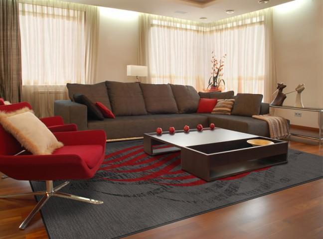 فرش مدما - فرش مهلا - فرش خط نقاشی - فرش قرمز - فرش سایز ۱ متر در ۱.۵ متر - فرش يک و نيم متري - فرش 1.5 متري - فرش عرض يک متر - فرش طول يک و نيم متر