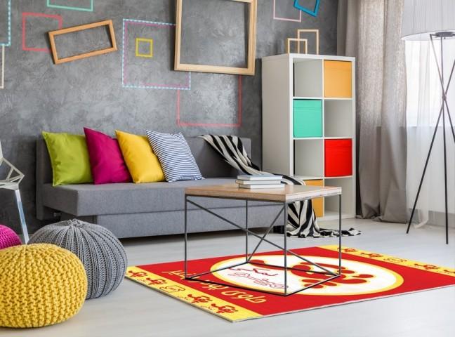 فرش مدما - فرش پفک نمکی - فرش مدرن - فرش قرمز - فرش سایز ۲.۲۵ متر در۳.۴ متر - فرش هشت متري - فرش 8 متري - فرش عرض دو متر و بيست و پنج سانت - فرش طول سه متر و چهل سانت