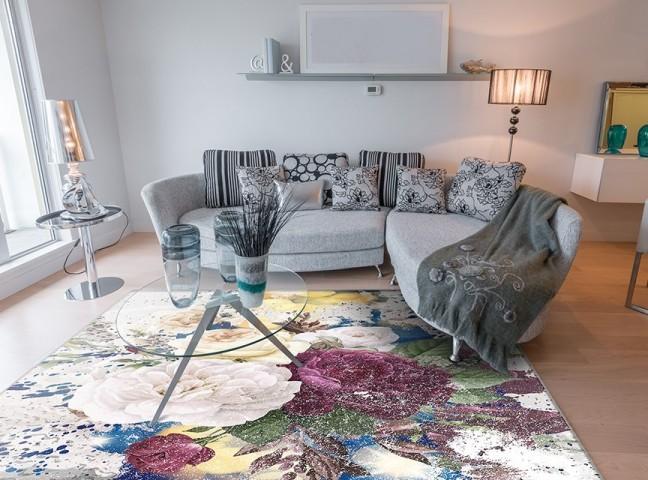 فرش مدما - فرش آترین - فرش گل - فرش کرمی - فرش سایز ۲.۲۵ متر در۳.۴ متر - فرش هشت متري - فرش 8 متري - فرش عرض دو متر و بيست و پنج سانت - فرش طول سه متر و چهل سانت