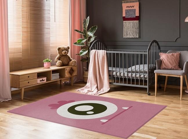 فرش مدما - فرش مایکلا - فرش کودک - فرش صورتی - فرش سایز ۲.۲۵ متر در۳.۴ متر - فرش هشت متري - فرش 8 متري - فرش عرض دو متر و بيست و پنج سانت - فرش طول سه متر و چهل سانت