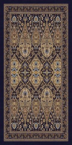 فرش مدما - فرش شهرزاد - فرش کلاسیک - فرش سرمه ای حاشیه کرم - فرش سایز ٠.۸٠ متر در ۱.۶ متر - فرش هشتاد سانت در يک متر و شصت سانت - فرش 80 سانت در 1 متر و 60 سانت - فرش عرض هشتاد سانت - فرش طول يک متر و شصت سانت