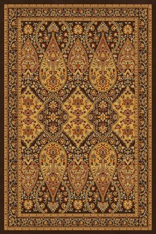 فرش مدما - فرش شهرزاد - فرش کلاسیک - فرش قهوه ای - فرش سایز ۲.۲۵ متر در۳.۴ متر - فرش هشت متري - فرش 8 متري - فرش عرض دو متر و بيست و پنج سانت - فرش طول سه متر و چهل سانت