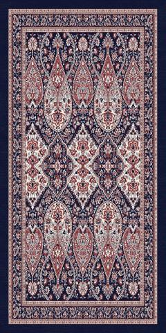 فرش مدما - فرش شهرزاد - فرش کلاسیک - فرش سرمه ای - فرش سایز ۱ متر در ۲ متر - فرش دو متري - فرش 2 متري - فرش عرض يک متر - فرش طول دو متر