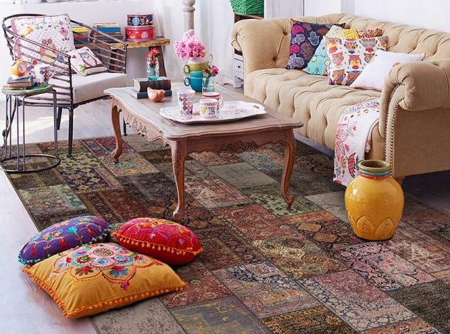 فرش مدما - فرش آرتا - فرش چهار خانه - فرش صورتی - فرش سایز ۲.۲۵ متر در۳.۴ متر - فرش هشت متري - فرش 8 متري - فرش عرض دو متر و بيست و پنج سانت - فرش طول سه متر و چهل سانت