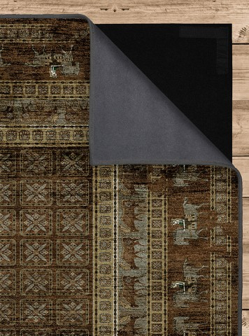 فرش مدما - فرش پازیریک - فرش کهنه نما - فرش سبز - فرش سایز ۱ متر در ۲ متر - فرش دو متري - فرش 2 متري - فرش عرض يک متر - فرش طول دو متر