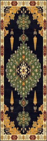 فرش مدما - فرش آلاله - فرش کلاسیک - فرش سبز - فرش سایز ٠.۸٠ متر در ۲.۴ متر - فرش هشتاد سانت در دو متر و چهل سانت - فرش 80 سانت در 2 متر و 40 سانت - فرش عرض هشتاد سانت - فرش طول دو متر و چهل سانت