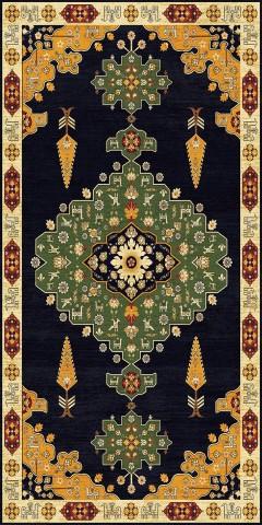 فرش مدما - فرش آلاله - فرش کلاسیک - فرش سبز - فرش سایز ٠.۸٠ متر در ۱.۶ متر - فرش هشتاد سانت در يک متر و شصت سانت - فرش 80 سانت در 1 متر و 60 سانت - فرش عرض هشتاد سانت - فرش طول يک متر و شصت سانت