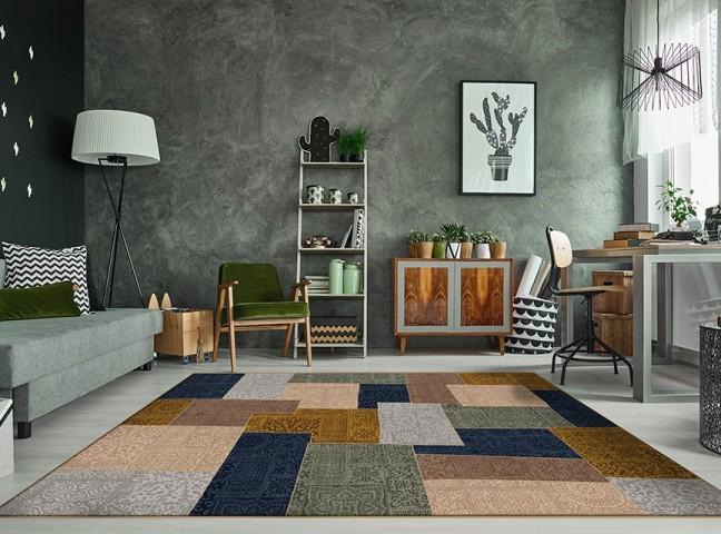 فرش مدما - فرش فاطیما - فرش چهار خانه - فرش قهوه ای - فرش سایز ۲.۲۵ متر در۳.۴ متر - فرش هشت متري - فرش 8 متري - فرش عرض دو متر و بيست و پنج سانت - فرش طول سه متر و چهل سانت