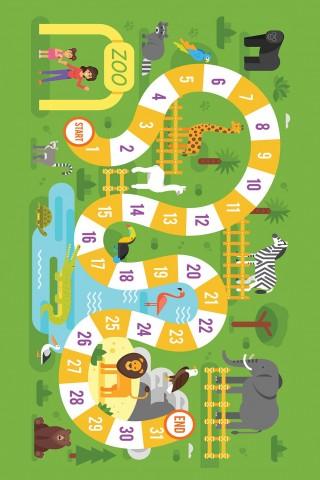 فرش مدما - فرش بازی 3 - فرش کودک - فرش سبز - فرش سایز ۲.۲۵ متر در۳.۴ متر - فرش هشت متري - فرش 8 متري - فرش عرض دو متر و بيست و پنج سانت - فرش طول سه متر و چهل سانت