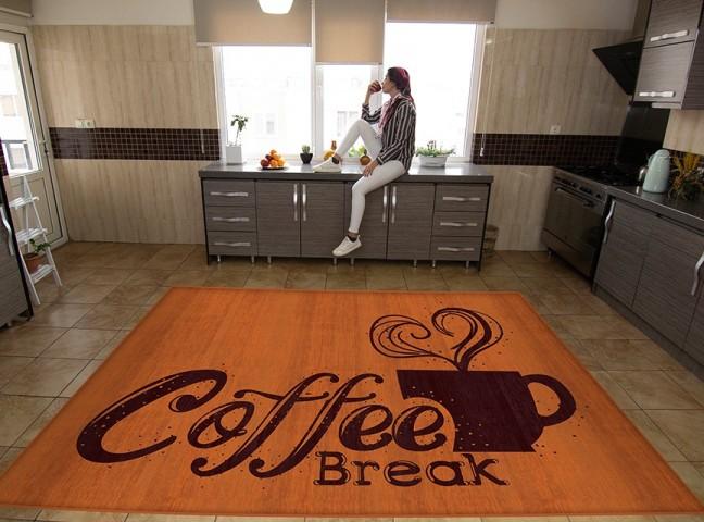 فرش مدما - فرش کافی - فرش آشپزخانه - فرش آجری - فرش سایز ۲.۲۵ متر در۳.۴ متر - فرش هشت متري - فرش 8 متري - فرش عرض دو متر و بيست و پنج سانت - فرش طول سه متر و چهل سانت