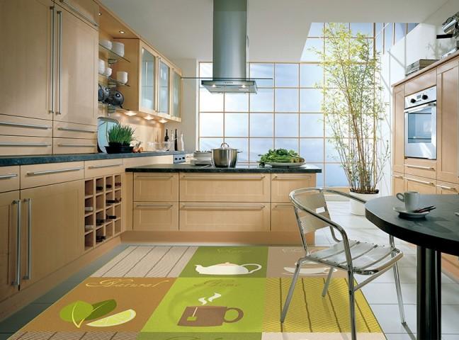 فرش مدما - فرش نیوشا - فرش آشپزخانه - فرش سبز - فرش سایز ۲.۲۵ متر در۳.۴ متر - فرش هشت متري - فرش 8 متري - فرش عرض دو متر و بيست و پنج سانت - فرش طول سه متر و چهل سانت