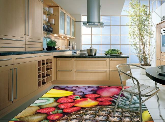 فرش مدما - فرش میوه ها - فرش آشپزخانه - فرش قرمز - فرش سایز ۲.۲۵ متر در۳.۴ متر - فرش هشت متري - فرش 8 متري - فرش عرض دو متر و بيست و پنج سانت - فرش طول سه متر و چهل سانت