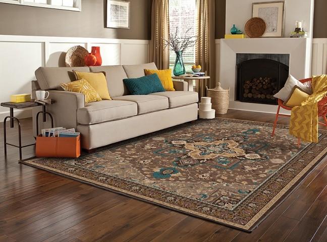فرش مدما - فرش شمیسا - فرش کلاسیک - فرش قهوه ای - فرش سایز ٠.۸٠ متر در ۱.۲ متر - فرش هشتاد سانت در يک متر و بيست سانت - فرش 80 در 1 متر و 20 سانت - فرش عرض هشتاد سانت - فرش طول يک متر و بيست سانت