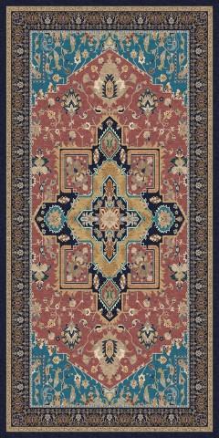 فرش مدما - فرش شمیسا - فرش کلاسیک - فرش صورتی - فرش سایز ٠.۸٠ متر در ۱.۶ متر - فرش هشتاد سانت در يک متر و شصت سانت - فرش 80 سانت در 1 متر و 60 سانت - فرش عرض هشتاد سانت - فرش طول يک متر و شصت سانت