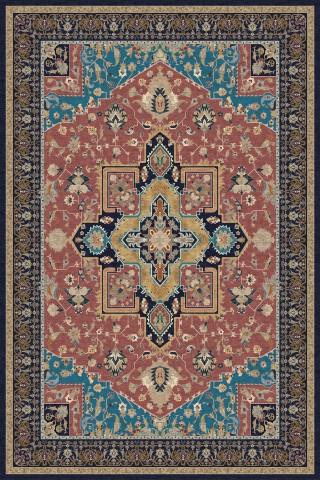 فرش مدما - فرش شمیسا - فرش کلاسیک - فرش صورتی - فرش سایز ۲.۲۵ متر در۳.۴ متر - فرش هشت متري - فرش 8 متري - فرش عرض دو متر و بيست و پنج سانت - فرش طول سه متر و چهل سانت