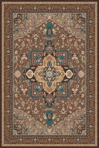 فرش مدما - فرش شمیسا - فرش کلاسیک - فرش قهوه ای - فرش سایز ۲ متر در ۳ متر - فرش شش متري - فرش 6 متري - فرش عرض دو متر - فرش طول سه متر