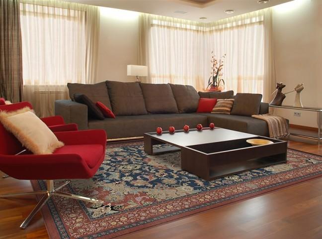فرش مدما - فرش طرلان - فرش کلاسیک - فرش سرمه ای - فرش سایز ۲.۲۵ متر در۳.۴ متر - فرش هشت متري - فرش 8 متري - فرش عرض دو متر و بيست و پنج سانت - فرش طول سه متر و چهل سانت