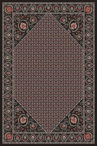 فرش مدما - فرش تاجیک - فرش کلاسیک - فرش مشکی - فرش سایز ۲.۲۵ متر در۳.۴ متر - فرش هشت متري - فرش 8 متري - فرش عرض دو متر و بيست و پنج سانت - فرش طول سه متر و چهل سانت