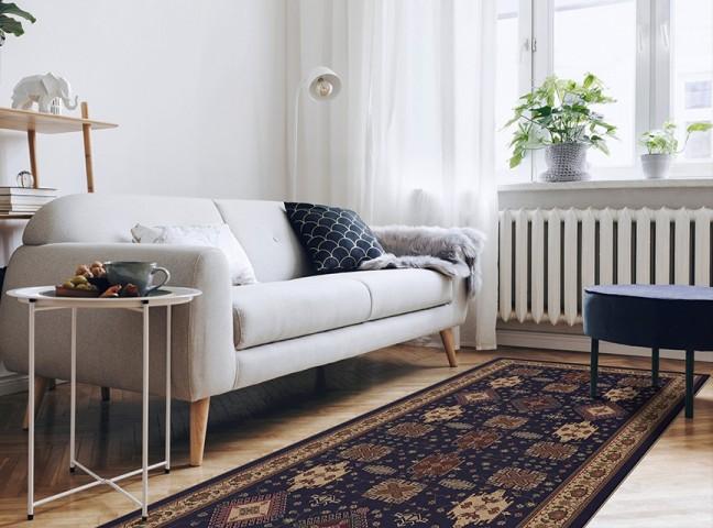 فرش مدما - فرش ارمغان - فرش کلاسیک - فرش سرمه ای - فرش سایز ٠.۸٠ متر در ۲.۴ متر - فرش هشتاد سانت در دو متر و چهل سانت - فرش 80 سانت در 2 متر و 40 سانت - فرش عرض هشتاد سانت - فرش طول دو متر و چهل سانت