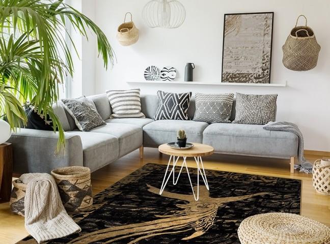 فرش مدما - فرش مولانا - فرش خط نقاشی - فرش مشکی - فرش سایز ۲.۲۵ متر در۳.۴ متر - فرش هشت متري - فرش 8 متري - فرش عرض دو متر و بيست و پنج سانت - فرش طول سه متر و چهل سانت