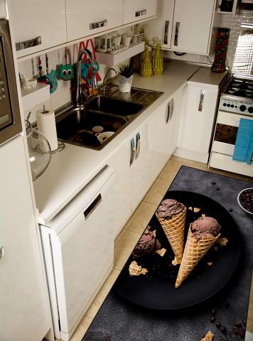 فرش مدما - فرش بلانچ - فرش آشپزخانه - فرش طوسی - فرش سایز ۱ متر در ۲ متر - فرش دو متري - فرش 2 متري - فرش عرض يک متر - فرش طول دو متر